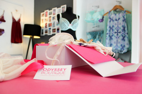 Odyssey Boutique, Gift Wrapped Luxury Lingerie - SOCIAL